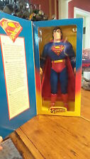 "Kenner SUPERMAN MAN OF STEEL 12"" POSEABLE FIGURE NIB, #27591"