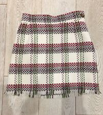 Vivienne Westwood Red Label Tartan Wool Skirt 42 / 10