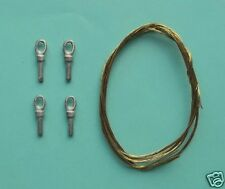 1/35th Heavy Duty Tow Rope and Ends (eyes) Wee Friends WB35007