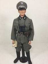 1/6 COTSWOLD GERMAN WERMACHT ARMY OFFICER WALTHER PPK MAP STAND WW2 DRAGON BBI
