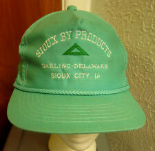SIOUX CITY cap animal by-products Iowa baseball hat DARLING light-green IOWA
