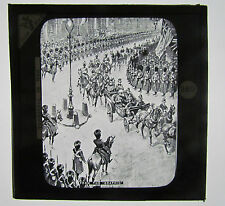 LORD ROBERTS  Boer War Antique Magic Lantern Military  Glass Slide