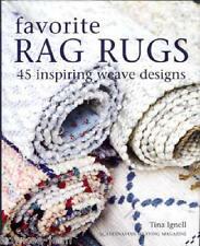 FAVORITE RAG RUGS 45 gorgeous designs, Scandinavian weaving LAST ONE