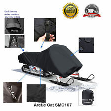 Arctic Cat Bearcat Utility Wide Track Deluxe Snowmobile Sled Cover Black