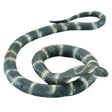 COBRA SNAKE 1.4m LONG REPTILE HALLOWEEN PROP FANCY DRESS DECORATION