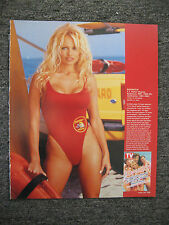 PAMELA ANDERSON BAYWATCH SWIMSUIT LIFESAVER MAGAZINE ADVERTISEMENT PRINT AD