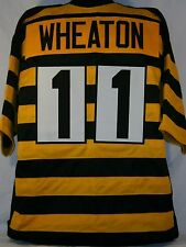 Markus Wheaton Unsigned Custom Throwback Bumblebee Football Jersey Men's Size XL
