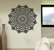 Mandala Wall Decals Stickers Namaste Vinyl Bedroom Decor Bohemian Boho Yoga SM6