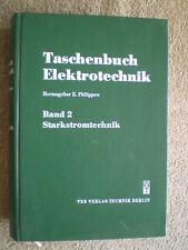 Starkstromtechnik - DDR Buch Elektrische Maschinen Antriebe Apparate Isolatoren