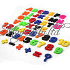Set Of 52 Colorful Teaching Magnetic Letters & Numbers Fridge Magnets Alphabet O