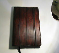 Personalized Leather Journal With A wood Appearance