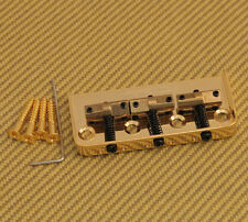 WTBSGD Wilkinson Gold 3-Saddle Short Bridge for Telecaster® Tele Guitar