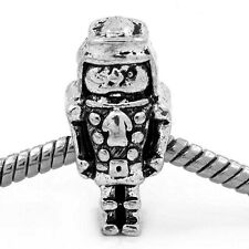 Nutcracker Christmas Holiday Ballet Bead for Silver European Charm Bracelets