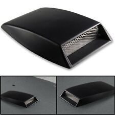 Universal Car Plastic Carbon decorative Air Flow Intake Scoop Turbo Bonnet Vent