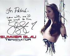 SUMMER GLAU Autographed Signed TERMINATOR Photograph - To Patrick GREAT CONTENT!