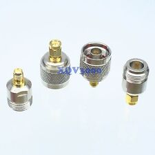 4pcs/Set SMA ~ N Female Male F/M RF Connector Adapter Kit Test