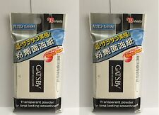 2 x Gatsby Powdered Oil Clear Paper Matte Finish, super absorbent 70 sheets