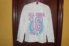 THE CHILDREN'S PLACE GIRLS LONG SLEEVE HOODIE SWEATSHIRT TOP SIZE M 7/8 NWT