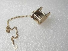 Vintage to Current Goldtone part - beleive for watch fob - clutch & chain