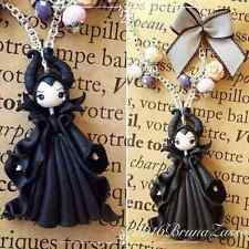 Collana Malefica Maleficent Disney Handmade Polymer Clay Fimo Cute Kawaii