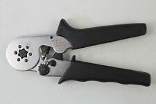 New 1pcs Mini Self-Adjustable Cable End-Sleeves Plier AWG 24-10 HSC8 6-6
