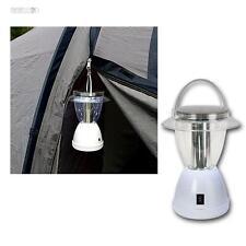 LED Luz que acampa Solar 12 LEDs 2 Funciones 15/50lm Linterna Lámpara
