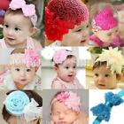 Cute Baby Kid Girl Toddler Hair Band Bow Lace Flower Headband Hair Accessories