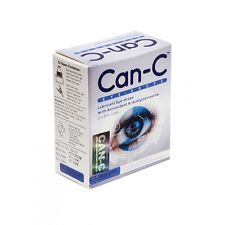 Can-C Eye-Drops 2x5ml vials N-Acetylcarnosine Drops for Cataracts FREE SHIPPING