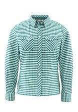 Simms Women's BIG SKY Long Sleeve Shirt ~ Ink Plaid NEW ~ Closeout Size Small