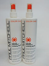 1 LITER! PAUL MITCHELL COLOR PROTECT LOCKING SPRAY 16.9 OZ EA