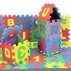 36PCS/Set Alphabet & Numerals Educational Toy Soft Foam Mats Baby Kids PlayMats