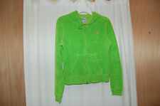 Lilly Pulitzer Green Terry Hoodie Womens Sweatshirt Size M