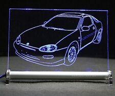 LED Leuchtschild mit Mazda MX-3 als AutoGravur MX 3 MX3