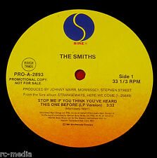"THE SMITHS -Stop Me If You Think You've Heard..- Rare USA Sire Promo 12"" /Vinyl"