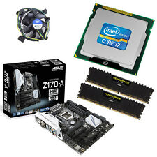 Intel I7 6700 Quad Core 4.00 Ghz 16 Gb Asus z170-a Motherboard Bundle