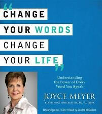 (New CD) Change Your Words, Change Your Life by Joyce Meyer (7 CDs / 8 hours)