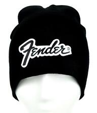Fender Guitars Beanie Alternative Clothing Knit Cap Vintage Stratocaster Squire
