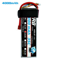 HRB AKKU LiPo Battery 14.8V 4S 4000mah 35C RC Car DJI Helicopter Airplane FPV DE