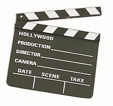 Prop Director Hollywood Movie Slate Board Clapper Costume Accessory NEW Small