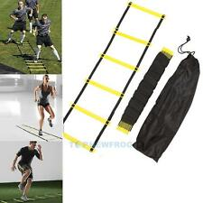 Agility Speed Sport Training Ladder 10FT 3m Soccer Fitness Boxing 5 Rung w TN2F