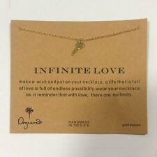Infinite Love Gold Key Necklace