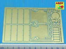 ABER 35 A12 - PHOTOETCHED FOTOINCISIONI SIDE FENDERS FOR TIGER I 1/35