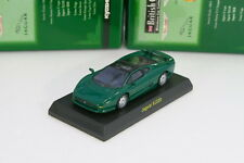 Kyosho 1/64 Jaguar XJ220 Green British Miniature car Collection 2006 JP Limited