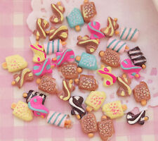 10pcs NAIL ART Ice Lolly MIXED Cabochons Kawaii Kitsch Decoden - UK SELLER!!