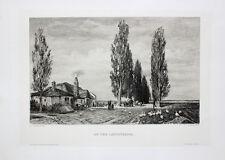 Jacob Schindler Wien Sylt Landstraße Bauernhof Bauer Gänse Enten Kutsche Allee