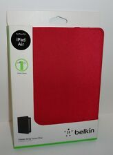 Belkin Classic Strap Cover For iPad Air- RED
