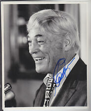 CARROLL ROSENBLOOM SIGNED 8X10 GLOSSY PHOTO LOS ANGELES RAMS BALTIMORE COLTS