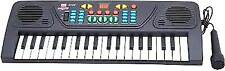 37 Keys Musical Electronic Keyboard Organ With Mic Melody Mixing Toys For Kids