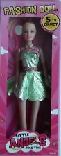 "11"" (28cm) ANGIOLETTI FASHION DOLL-Green Dress balarina bniob 2016"