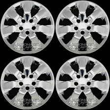 "4 New CHROME 08 09 10 Honda Accord 17"" Wheel Skins Hub Caps Alloy Rim Covers"